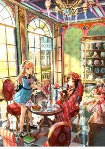 Even dolls learn Japanese through anime